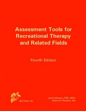9781882883721-1882883721-Assessment Tools for Recreational Therapy and Related Fields, 4th Edition