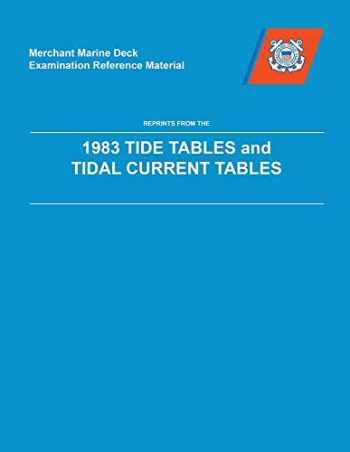 9780160426889-016042688X-MMDREF Tide Tables & Tidal Current Tables 1983