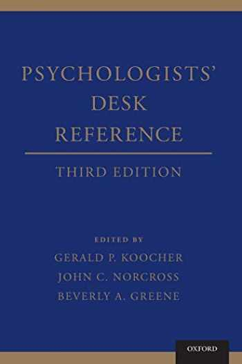9780199845491-0199845492-Psychologists' Desk Reference