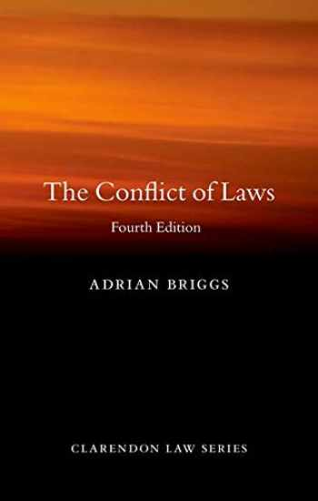 9780198838500-0198838506-The Conflict of Laws (Clarendon Law Series)