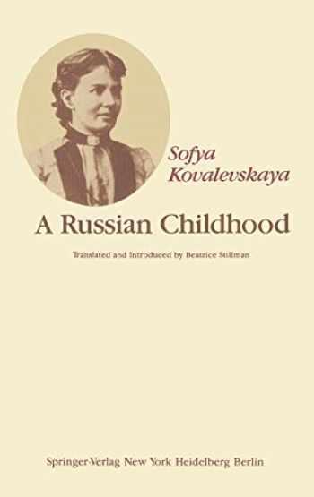 9780387903484-0387903488-A Russian Childhood