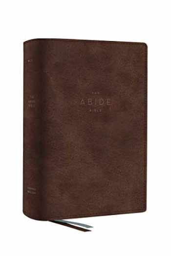 9780785233268-0785233261-The NET, Abide Bible, Leathersoft, Brown, Comfort Print: Holy Bible