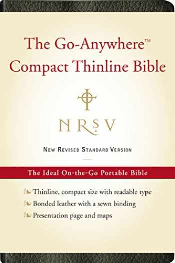 9780061827204-0061827207-NRSV, The Go-Anywhere Compact Thinline Bible, Bonded Leather, Black: The Ideal On-the-Go Portable Bible