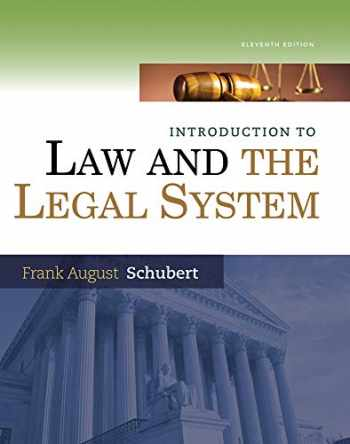 9781285438252-1285438256-Introduction to Law and the Legal System