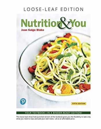 9780135210420-0135210429-Nutrition & You, Loose-Leaf Edition (Masteringnutrition)