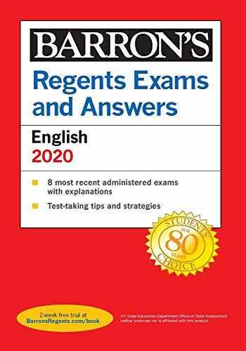 9781506253787-1506253784-Regents Exams and Answers: English 2020 (Barron's Regents NY)
