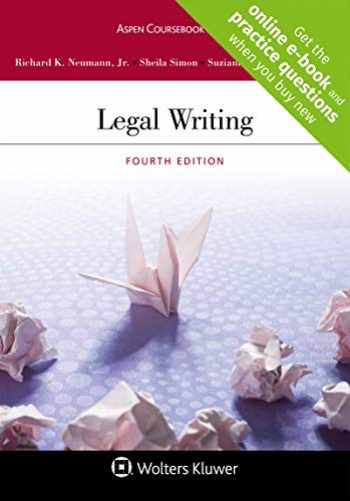 9781543805192-1543805191-Legal Writing [Connected Casebook] (Aspen Coursebook)