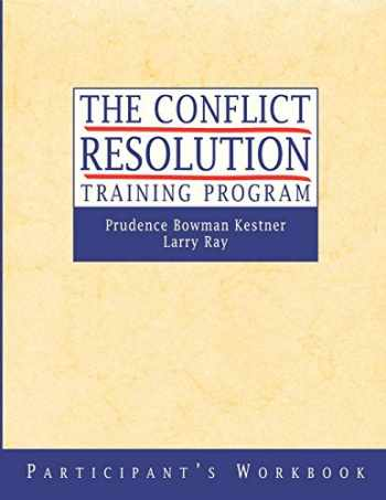 9780787955816-0787955817-The Conflict Resolution Training Program: Participant's Workbook