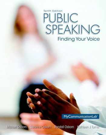 9780205931095-020593109X-Public Speaking: Finding Your Voice (10th Edition)