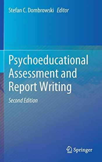 9783030446406-3030446409-Psychoeducational Assessment and Report Writing