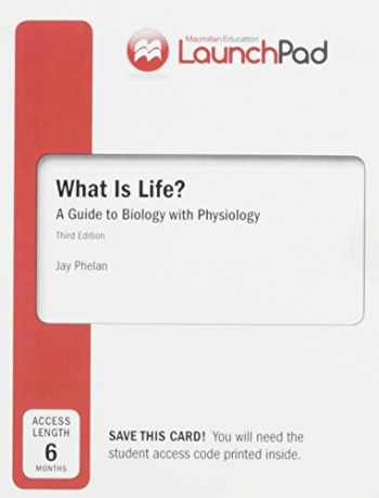 9781319011543-1319011543-LaunchPad for What is Life? A Guide to Biology with Physiology (Six Month Access)