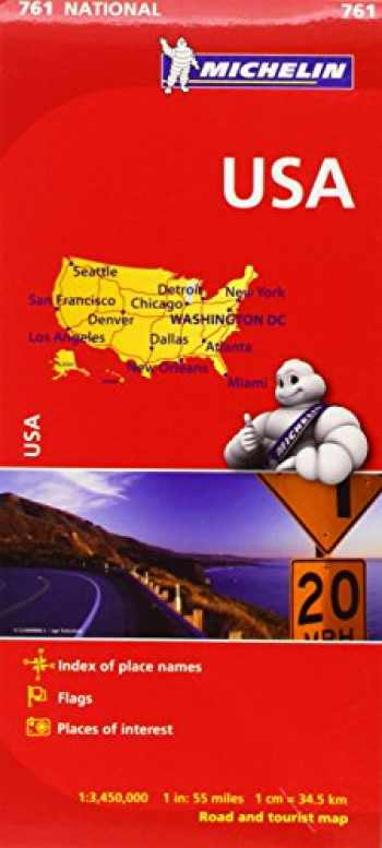 9782067173279-2067173278-Michelin USA Road Map 761 (Maps/Country (Michelin))