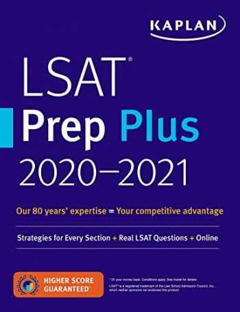 9781506239163-1506239161-LSAT Prep Plus 2020-2021: Strategies for Every Section + Real LSAT Questions + Online (Kaplan Test Prep)