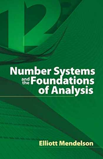 9780486457925-0486457923-Number Systems and the Foundations of Analysis (Dover Books on Mathematics)