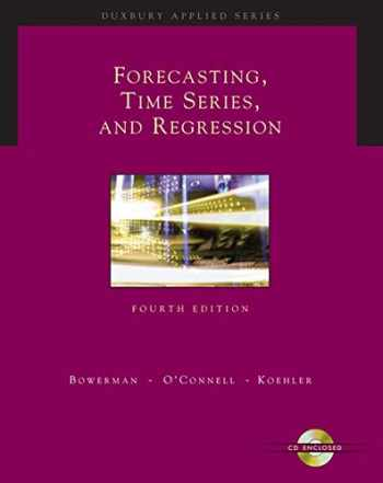 9780534409777-0534409776-Forecasting, Time Series, and Regression (with CD-ROM) (Forecasting, Time Series, & Regression)