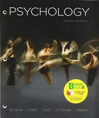 9781319240196-1319240194-Loose-Leaf Version for Psychology, Canadian Edition
