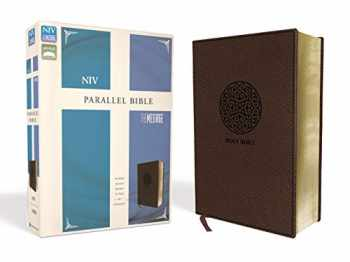 9780310446934-0310446937-NIV, The Message, Parallel Bible, Leathersoft, Brown: Two Bible Versions Together for Study and Comparison