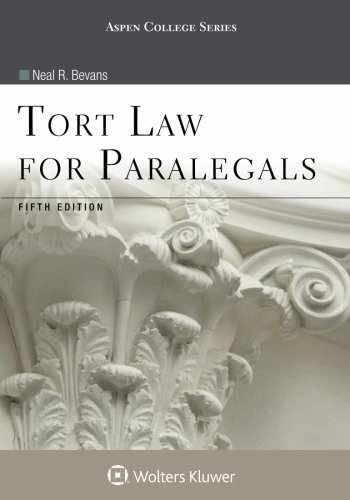 9781454852193-1454852194-Tort Law for Paralegals (Aspen College)