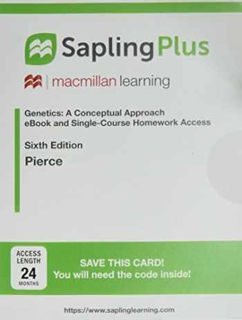 9781319108441-131910844X-SaplingPlus for Genetics: A Conceptual Approach (Single-Term Access)