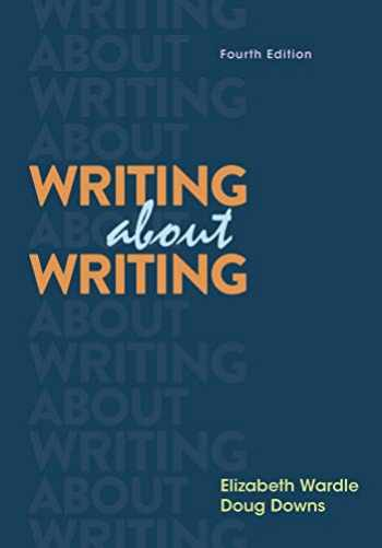 9781319195861-1319195865-Writing about Writing