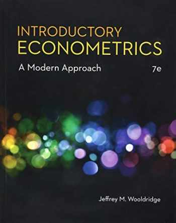 9781337558860-1337558869-Introductory Econometrics: A Modern Approach (MindTap Course List)