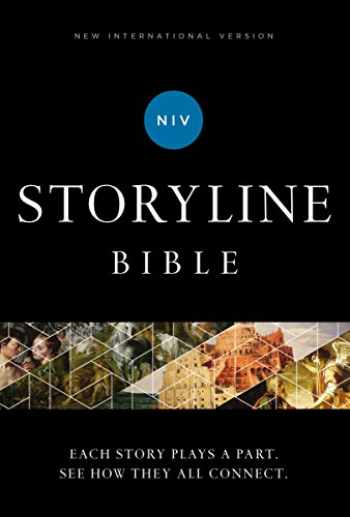 9780310080176-0310080177-NIV, Storyline Bible, Hardcover, Comfort Print: Each Story Plays a Part. See How They All Connect.