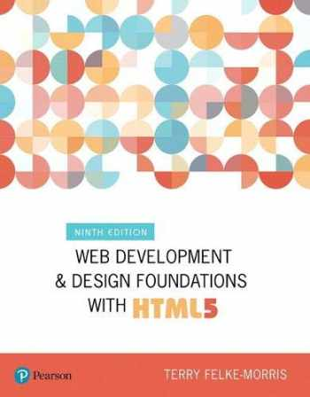 9780134801148-0134801148-Web Development and Design Foundations with HTML5 (What's New in Computer Science)