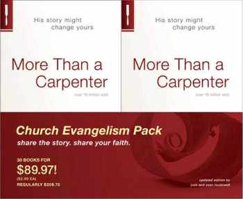 9781414332062-1414332068-More Than a Carpenter 30 Pack, Church Evangelism Pack 30-Pack
