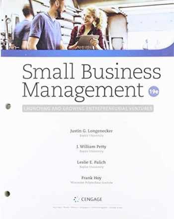 9780357209592-0357209591-Bundle: Small Business Management: Launching & Growing Entrepreneurial Ventures, Loose-leaf Version, 19th + MindTap, 1 term Printed Access Card