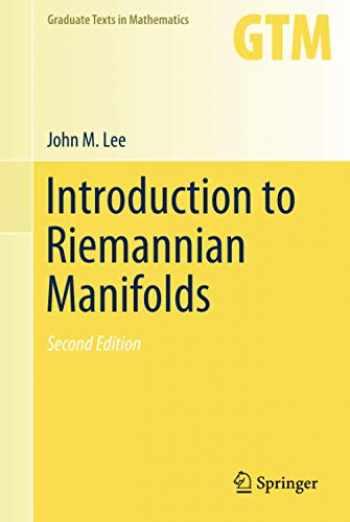 9783319917542-3319917544-Introduction to Riemannian Manifolds (Graduate Texts in Mathematics (176))