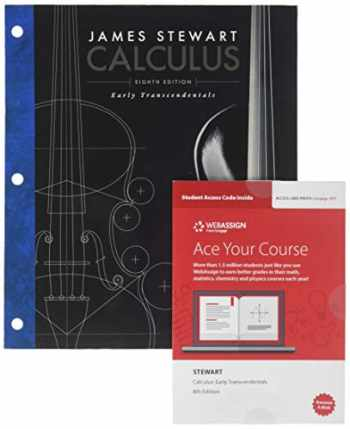 9780357019788-0357019784-Bundle: Calculus: Early Transcendentals, Loose-Leaf Version, 8th + WebAssign Printed Access Card, Single-Term