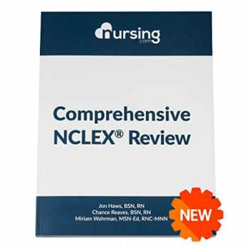 9781543993264-1543993265-NURSING.com Comprehensive NCLEX Book [458 Pages] (2020, review for nursing students, full-color, content + practice questions + answers + cheat sheets)