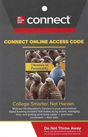 9781260839104-1260839109-CONNECT Access Card for Theories of Personality 10th Edition