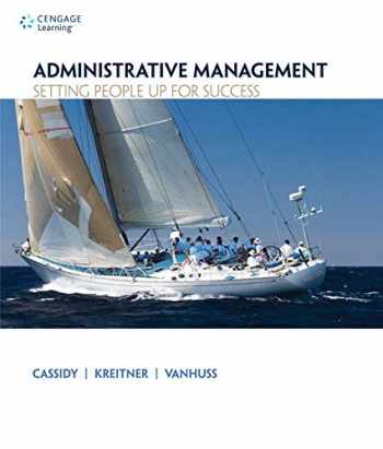 9781133365174-1133365175-Administrative Management: Setting People Up for Success