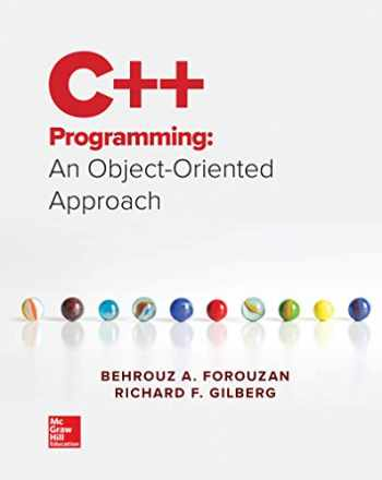 9781259571459-1259571459-Loose Leaf for C++ Programming: An Object-Oriented Approach