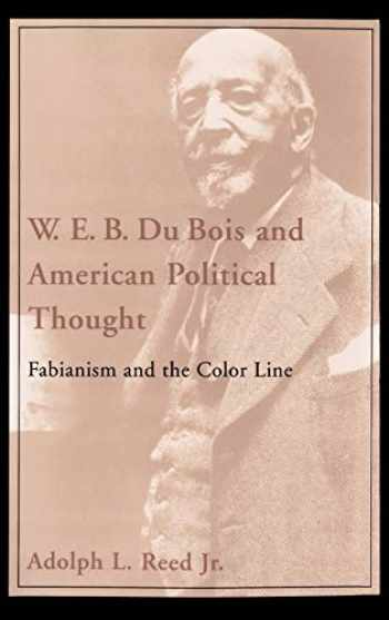 9780195051742-0195051742-W. E. B. Du Bois and American Political Thought: Fabianism and the Color Line