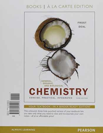 9780134183794-0134183797-General, Organic, and Biological Chemistry, Books a la Carte Plus Mastering Chemistry with Pearson eText -- Access Card Package (3rd Edition)