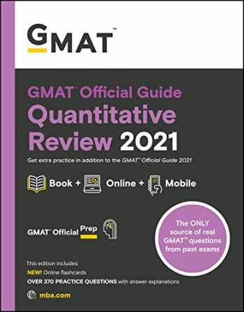 9781119687849-1119687845-GMAT Official Guide Quantitative Review 2021, Book + Online Question Bank: Book + Online