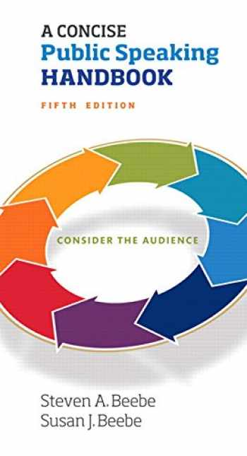 9780134380902-0134380908-A Concise Public Speaking Handbook (5th Edition)