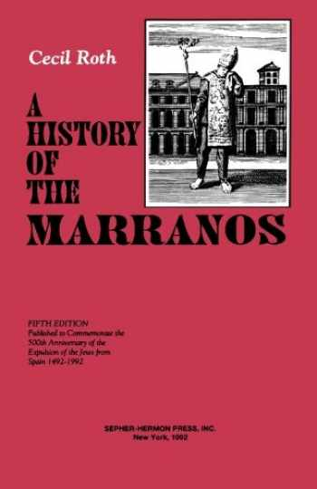 9780872031388-0872031381-A History of the Marranos 5th Edition