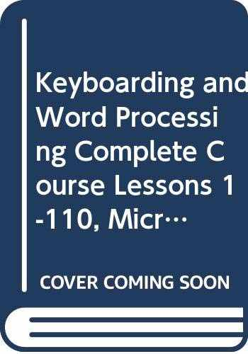 9780357245897-035724589X-Bundle: Keyboarding and Word Processing Complete Course Lessons 1-110: Microsoft Word 2016, 20th + LMS Integrated Keyboarding in SAM 365 & 2016 with ... 1 term (6 months), Printed Access Card