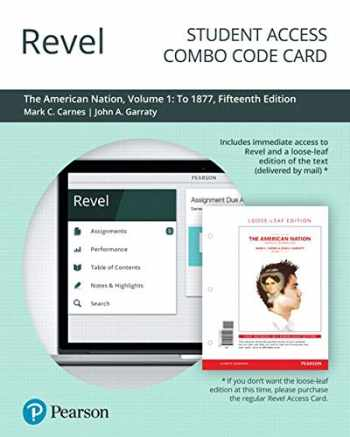 9780135193006-0135193001-Revel for The American Nation: A History of the United States, Volume 1 -- Combo Access Card