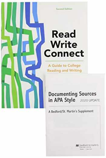 9781319354336-1319354335-Read, Write, Connect 2e & Documenting Sources in APA Style: 2020 Update