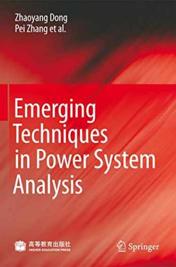 9783642042812-3642042813-Emerging Techniques in Power System Analysis