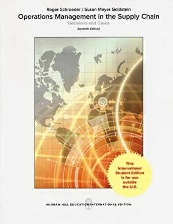9781260083460-1260083462-Operations Management in the Supply Chain Decisions and Cases