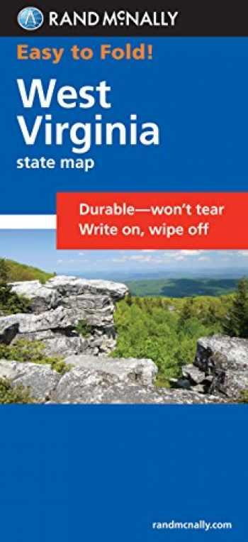 9780528997884-0528997882-Rand McNally Easy To Fold: West Virginia (Laminated Fold Map) (Rand McNally Easyfinder)