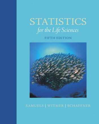 9780321989581-0321989589-Statistics for the Life Sciences (5th Edition)