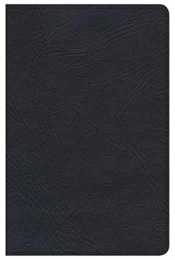 9780805489897-0805489894-Minister's Pocket Bible: KJV Edition, Black Genuine Leather