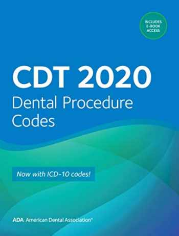 9781684470549-1684470544-CDT 2020: Dental Procedure Codes (Practical Guide)