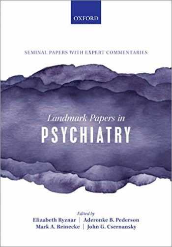 9780198836506-0198836503-Landmark Papers in Psychiatry